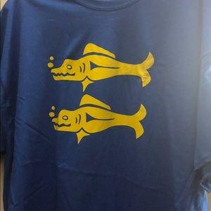 Legend of the Hidden Temple Blue Barracuda shirt